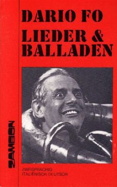 Lieder und Balladen - Fo, Dario