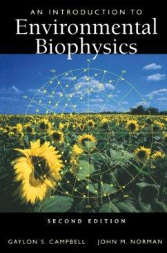 An Introduction to Environmental Biophysics - Campbell, Gaylon S.;Norman, John