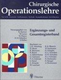 Ergänzungsband und Gesamtregisterband / Chirurgische Operationslehre Erg.-Bd.