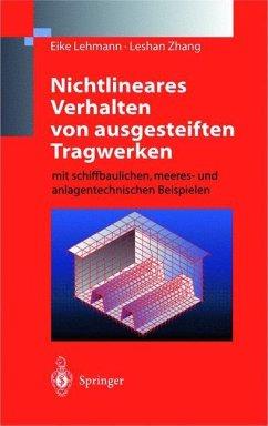 Nichtlineares Verhalten von ausgesteiften Tragwerken - Lehmann, Eike;Zhang, Leshan