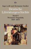 Deutsche Literaturgeschichte 9. Weimarer Republik 1918 - 1933