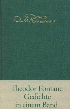 Gedichte in einem Band - Fontane, Theodor
