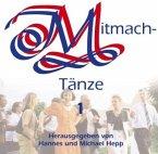 Mitmachtänze, 1 Audio-CD