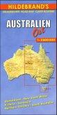 Hildebrand's Urlaubskarte Australien Ost; Australia East / Australie Est