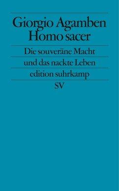Homo sacer - Agamben, Giorgio