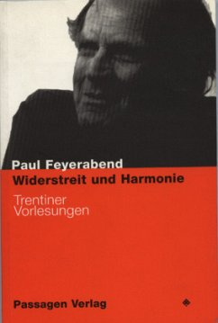 Widerstreit und Harmonie - Feyerabend, Paul K.