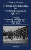 Herrschaftsinstanzen der württembergischen NSDAP