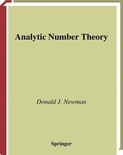 Analytic Number Theory - Newman, Donald J.