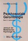Psychosoziale Gerontologie / Jahrbuch der Medizinischen Psychologie Bd.16, Tl.2