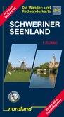 Schweriner Seenlandschaft 1 : 50 000. Die Wander- und Radwanderkarte