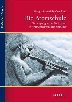 Die Atemschule - Scheufele-Osenberg, Margot