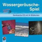Wassergeräusche-Spiel, 1 Audio-CD + 24 Bildkarten