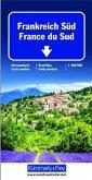 Kümmerly & Frey Karte Frankreich Süd; France du Sud / Southern France / Francia del Sud