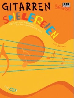 Gitarrenspielereien, m. CD-Audio