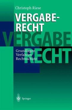 Vergaberecht - Riese, Christoph