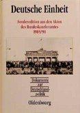 Dokumente zur Deutschlandpolitik, Deutsche Einheit