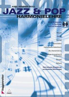 Jazz & Pop Harmonielehre, m. CD-Audio