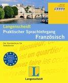 Langenscheidt Praktischer Sprachlehrgang Französisch - Set mit Lehrbuch und 4 Audio-CDs