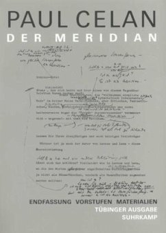 Der Meridian - Celan, Paul