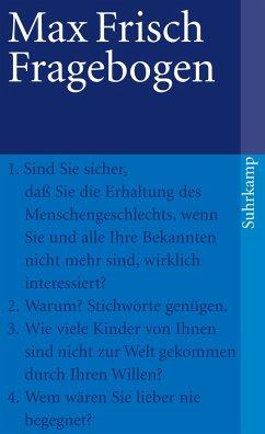 Fragebogen - Frisch, Max