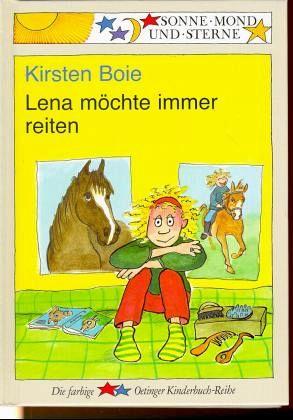 Lena möchte immer reiten - Boie, Kirsten
