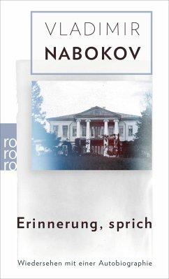 Erinnerung, sprich - Nabokov, Vladimir