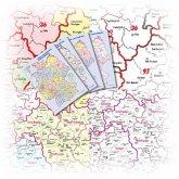 Bacher Marketing-Karten Deutschland im A3-Format