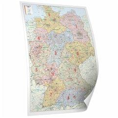 Deutschland - Bacher Postleitzahlenkarte (Poste...