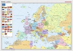 Westermann Europa, politisch, Posterkarte