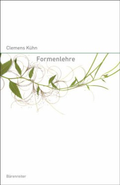 Formenlehre der Musik - Kühn, Clemens