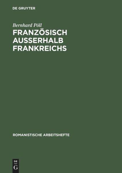 franz sisch au erhalb frankreichs von bernhard p ll