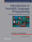 Introduction to Assembly Language Programming