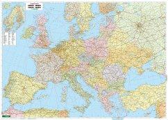 Freytag & Berndt Poster Europa, politisch, mit ...