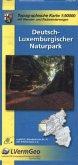 Topographische Karte Rheinland-Pfalz Deutsch-Luxemburgischer Naturpark