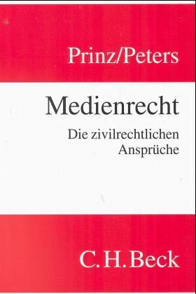 Medienrecht - Prinz, Matthias / Peters, Butz