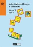 Meine täglichen Übungen in Mathematik Klasse 5 Heft 3