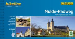 Bikeline Muldental-Radweg 1 : 50 000