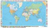 Kümmerly & Frey Poster Die Welt, politisch, 1 : 50 Mio., Laminiert; Le Monde politique; The World political