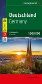 Freytag & Berndt Autokarte Deutschland 1:500.000; Alemania; Duitsland; Germany; Allemagne; Germania