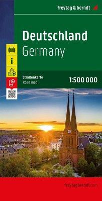 Freytag & Berndt Autokarte Deutschland 1:500.00...