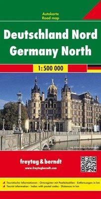 Freytag & Berndt Autokarte Deutschland Nord / G...