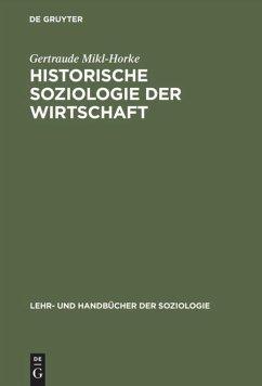 Historische Soziologie der Wirtschaft - Mikl-Horke, Gertraude