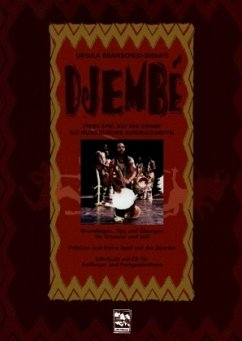 Djembe, m. Audio-CD - Branscheid, Ursula