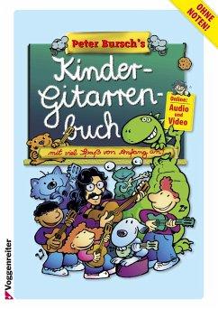 Peter Bursch´s Kinder-Gitarrenbuch, m. Audio-CD