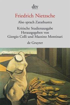 Also sprach Zarathustra I - IV - Nietzsche, Friedrich