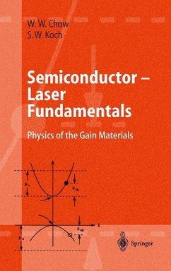 Semiconductor-Laser Fundamentals - Chow, Weng W.;Koch, Stephan W.