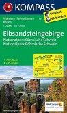 Kompass Karte Elbsandsteingebirge