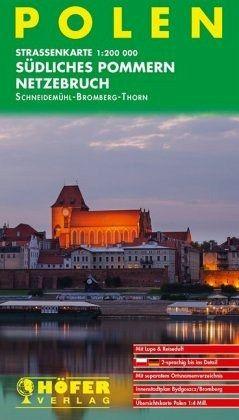Höfer Straßenkarte Polen, Südliches Pommern, Netzebruch