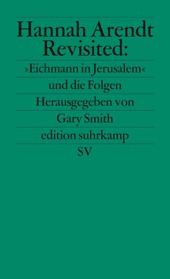 Hannah Arendt Revisited - Smith, Gary (Hrsg.)