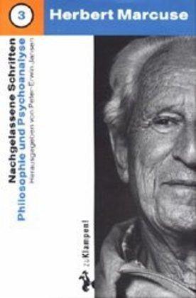 Philosophie und Psychoanalyse - Marcuse, Herbert